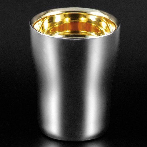 Takei Antiquities Works 18-8 stainless steel double structure U-shaped tumbler 230ml by Takei vessels Works (Image #1)