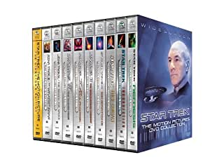 Star Trek: The Motion Pictures Collection (Motion Picture/ Wrath of Khan/ Search for Spock/ Voyage Home/ Final Frontier/ Undiscovered Country/ Generations/ First Contact/ Insurrection/ Nemesis)