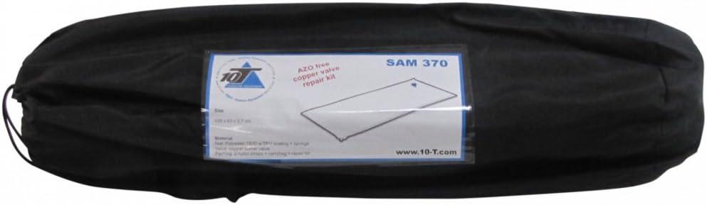 10T Sam 370 selbstaufblasende Isomatte mit isolierendem Schaumstoff Kern 198x63x3,7 cm abwaschbar