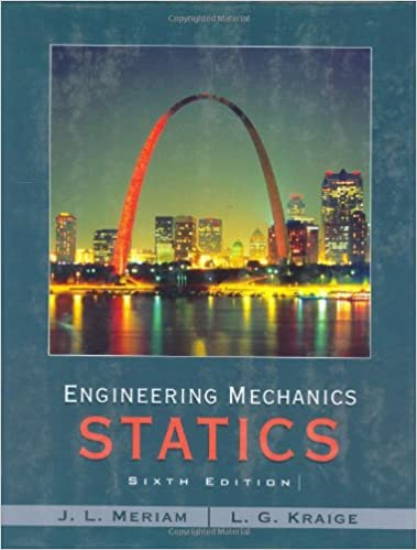 Engineering mechanics statics j l meriam l g kraige engineering mechanics statics j l meriam l g kraige 9780471739326 amazon books fandeluxe Gallery