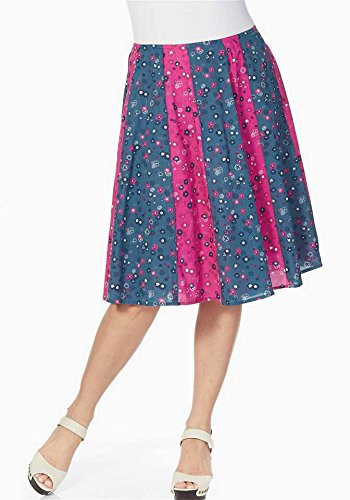 pink Joe Browns rauchblau Bleu Jupe pink Opaque rauchblau Femme nUraxn0w