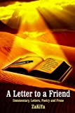 A Letter to a Friend, Zakiya, 1418400998
