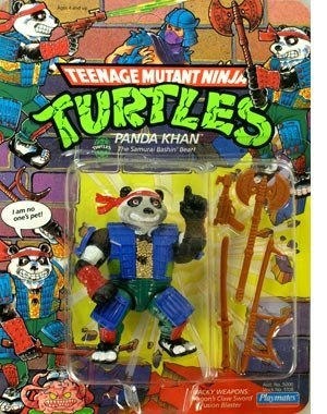 1990 Playmates Teenage Mutant Ninja Turtles Panda Khan