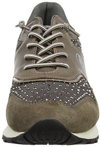 Bugatti Damen 422285033464 Sneaker Grau (grigio / Metallizzato)