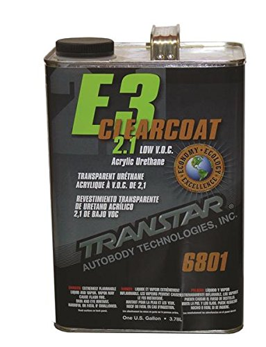 TRANSTAR (6801) E3 2.1 Low VOC Clear Coat - 1 Gallon