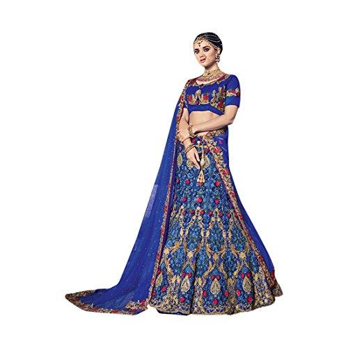 Cotton Chaniya Cholis (Bridal Wedding Designer Bollywood Women Lehenga Choli Dupatta Ceremony Chaniya Choli Collection 734 5)