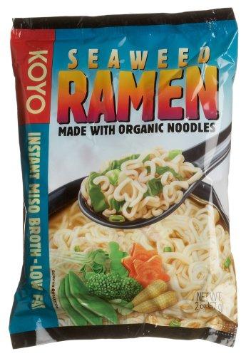 Koyo Foods Seaweed Ramen, 2 Ounce Packages (Pack of ()
