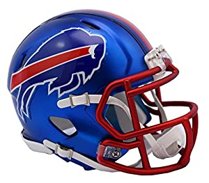NFL Buffalo Bills Alternate Blaze Speed Mini Helmet