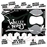 Vante Wallet Ninja 18 in 1 Multi-purpose Credit Card Size Pocket Tool