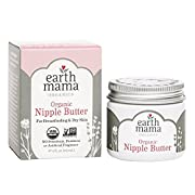 Earth Mama Angel Baby Natural Nipple Butter, 2-ounce Jar 2 Pck
