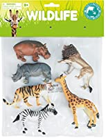 World Animal Collection Wonder World of Nature Wildlife 6 Piece Playset