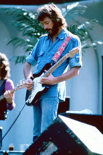 Eric Clapton Jamming On Stage 24x36 Poster