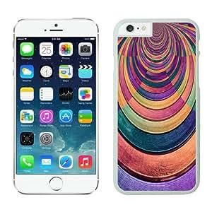 Dacheng Novelty Colorized wood texture iPhone 6 Case White