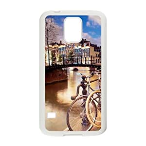 Samsung Galaxy S5 Cell Phone Case Covers White amsterdam City Phone Case Cover Design Protective XPDSUNTR22513