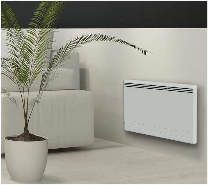 CARRERA New Moala - Radiador eléctrico de inercia de cerámica + lámina de Calor - Calor Suave - Programación LCD