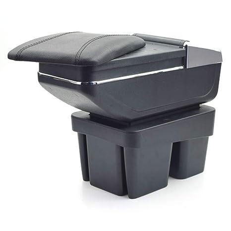 MyGone para Golf 7 Auto Consola Central Apoyabrazos Reposabrazos Accesorios,Gran Espacio de Almacenamiento,