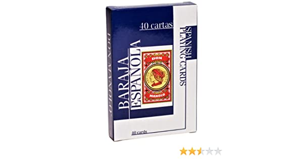 Don Manolo Spanish Playing Cards