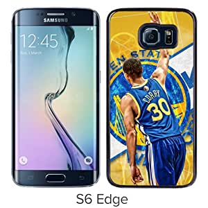 Popular Samsung Galaxy S6 Edge Case ,Beautiful And Unique Designed With Stephen Curry Black Samsung Galaxy S6 Edge Cover