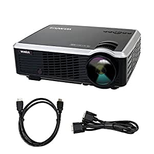 Projector video projector lcd 3000 lumens for High resolution mini projector