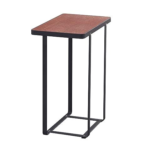 Amazon.com: Mesa de hierro para café, sala de estar, sofá ...