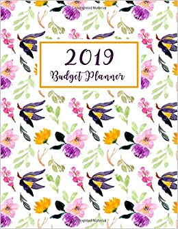 2019 budget planner monthly budgeting expense tracker bill
