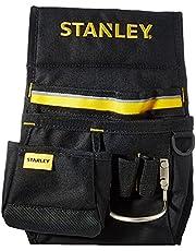 Stanley 1-96-181 Heuptas/gereedschapsriem (33,2 x 23,5 x 7,5 cm, 600 denier nylon, met 2 nagelzakken, 1 hamerhouder en 1 meettas, gemakkelijk toegankelijke vakken)