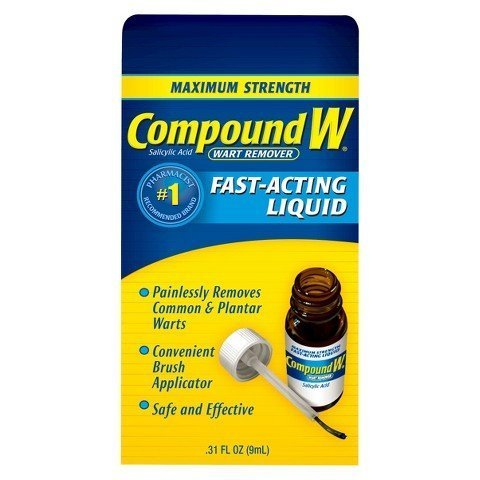 Compound W Wart Remover Fast-Acting Liquid by Compound W