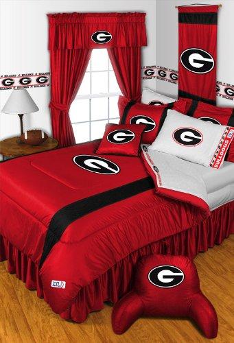 georgia bulldogs queen sheets - 9
