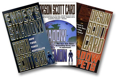 """Download Orson Scott Card's """"Ender's Shadow"""" Three-Book Set (Ender's Shadow, Shadow of the Hegemon, and Shadow Puppets) 0765349981"""