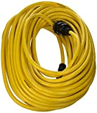 Yellow Jacket 2738 12/3 Heavy-Duty 15-Amp SJTW Contractor Extension Cord, Locking, 100-Feet
