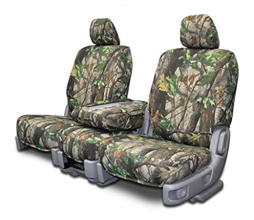 Chevy S10 Truck Seats (Custom Seat Covers for Chevy Blazer Mini S10 Front 60/40 Split - RTG Camo)