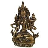 Buddhist Sculpture Tara Buddha Handmade Collectible Brass Statueby DakshCraft