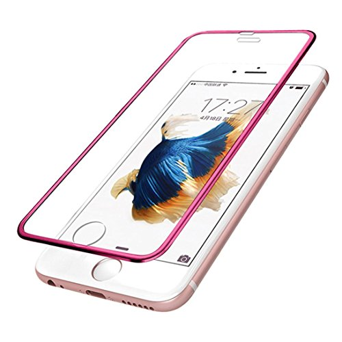 ,Livoty Premium Screen Protector Tempered Glass Protective Film For iphone 6s 4.7IncH (Red)