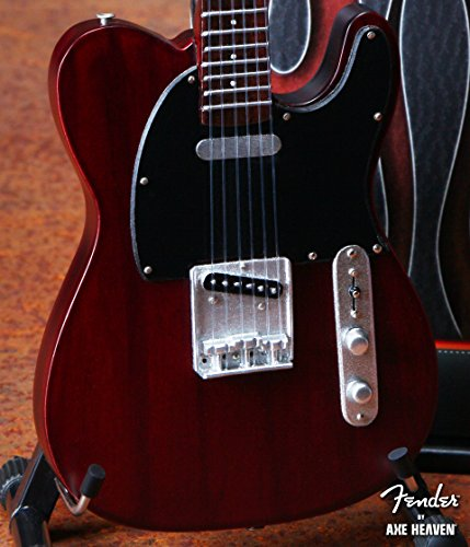 Fender Telecaster Miniature Guitar Replica - Rosewood Finish - Officially - Collectible Beatles