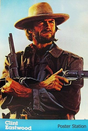 Clint Eastwood The Outlaw Josey Wales Poster - Rare New - Image Print Photo