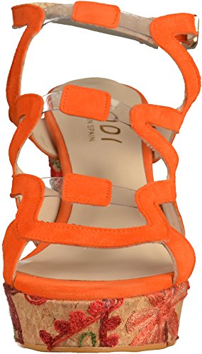 Lodi A17, Women's Sandals Orange