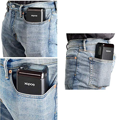 Godox AD200 TTL 2.4G HSS 1/8000s Pocket Flash Light Double Head 200Ws 2900mAh Lithium Battery+Godox XPro-F Flash Trigger Transmitter Compatible for Fuji Cameras by Godox (Image #3)