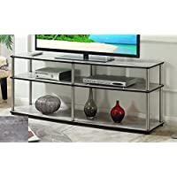 Convenience Concepts 131060C1 Designs2Go 3-Tier TV Stand, 60, Faux Birch