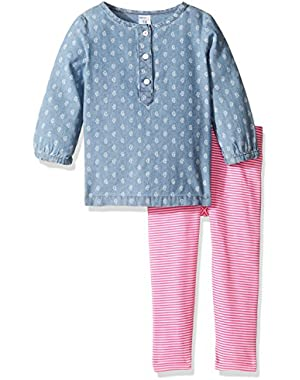 2 Piece Chambray Set (Baby)