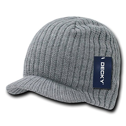 DECKY Campus Jeep Cap, Heather Grey