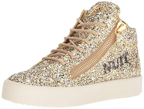 Used, Giuseppe Zanotti Women's RW80057 Sneaker, Argold, 7.5 for sale  Delivered anywhere in USA