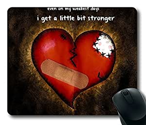 Repaired Broken Heart Limited Design Oblong Mouse Pad by Cases & Mousepads