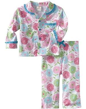 ABSORBA Baby Girls' Two Piece Pajama Set