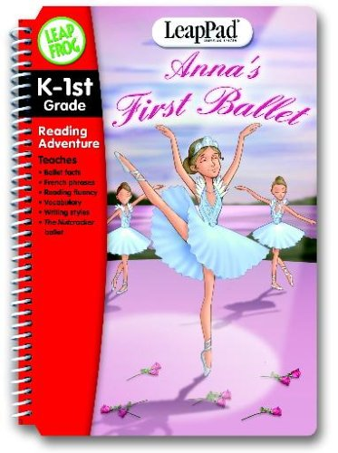 System Learning First Leappad - LeapFrog LeapPad Educational Book: Anna's First Ballet