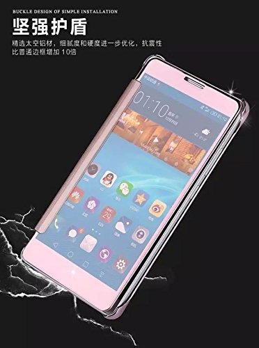 para iPhone 8 Plus / 7 Plus Caso, Vandot de 360 Grados Alrededor de Todo el Cuerpo Completo de Protección Ultra Thin Slim Fit Cubierta de la Caja de Mate PC Absorción de impactos Shockproof para iPhon Flip Rosa