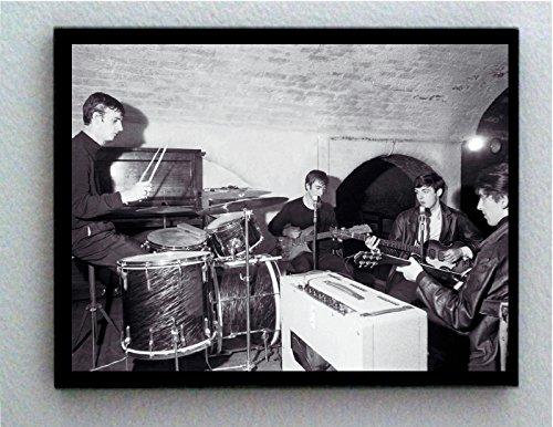 Rare Framed FIRST ever The Beatles Photo. Vintage 8.5 X 11 Jumbo Giclée Print (Vintage Rare Photo)