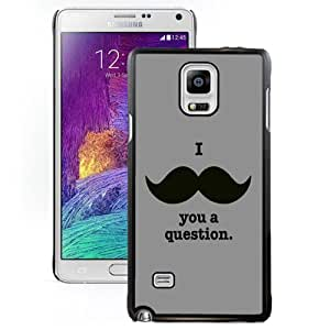 DIY and Fashionable Cell Phone Case Design with I Moustache You A Question Galaxy Note 4 Wallpaper