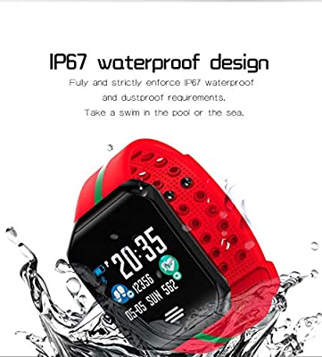 Fitness Tracker with Heart Rate Blood Pressure Monitor Smart Watch GPS Activity Tracker for Men Women Summer Sport Smartwatch Calories Pedometer Sync Phone Calls SMS Thanksgiving Christmas Birthday