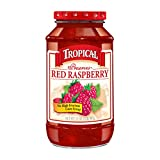 Tropical Preserves, Red Raspberry, 32 Ounce (Pack of 12)