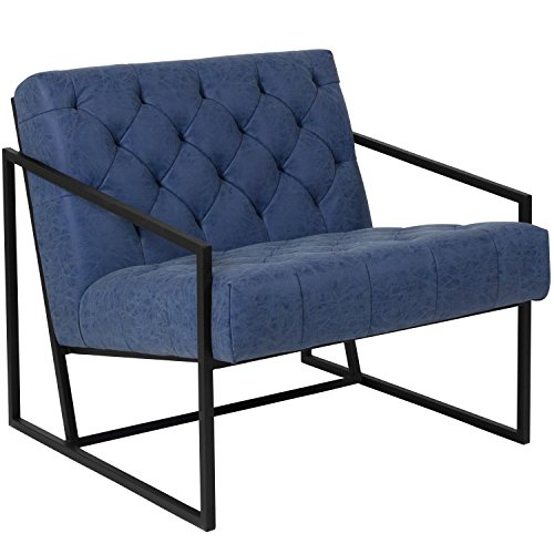 Flash Furniture HERCULES Madison Series Retro Blue for sale  Delivered anywhere in USA